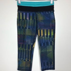 Patagonia Girls' Centered Crop Tights Size Small